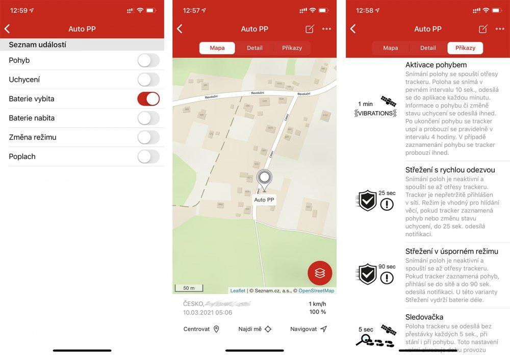 Aplikace ONI system